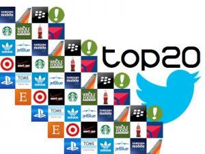 Top 20 on Twiter