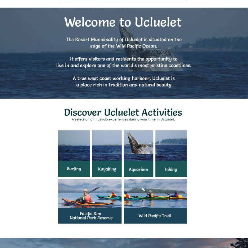 Discover Ucluelet - Home